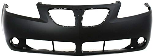 Front Bumper Cover Compatible with 2005-2009 Pontiac G6 Primed