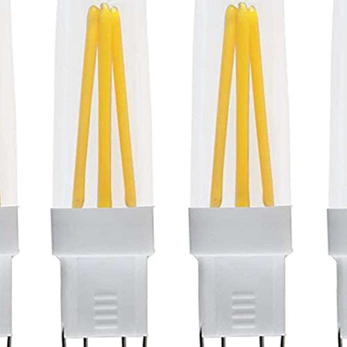 Gmasuber Bombillas LED G9 COB 3 W regulables G9 Bi-Pin Base 3 vatios blanco cálido 3000 K LED bombillas de maíz para iluminación de paisaje, 110 V, 4 piezas de filamento COB