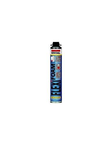 Mousse extensible flexible Soudal Sfff 750 ml