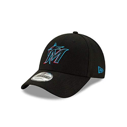 New Era Miami Marlins 2019 Kids 9FORTY Adjustable Black Hat