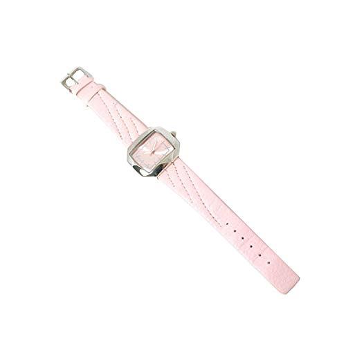 Carvel M875 - Orologio da polso da donna, cinturino in tessuto colore rosa
