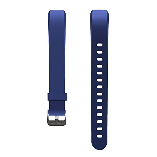 MorePro Waterproof Health Tracker Band, Adjustable Replacement Accessories Classic Sport Strap, Blue