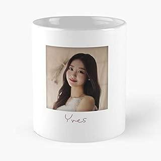 Loona Heejin Hyunjin Looπ Coffee Mugs Unique Ceramic Novelty Cup