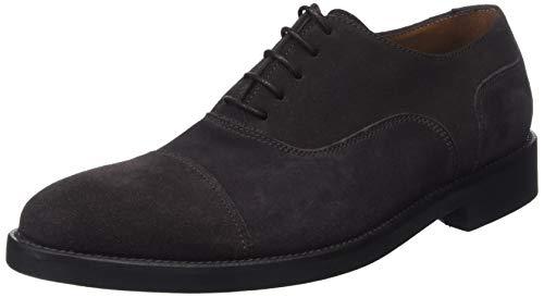 Lottusse L6591, Zapatos de Cordones Derby para Hombre, Marrón (Buckster Moka Buckster Moka), 45 EU