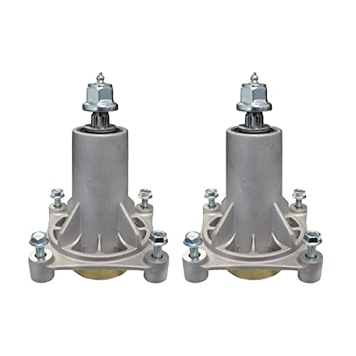 WELOVEHOME Spindle Assembly Replaces Ariens 21546238 21546299 (2PACK); Husqvarna 532187281 532187292; AYP 187292 192870; Oregon 82-026; Rotary 11590; Stens 285-585
