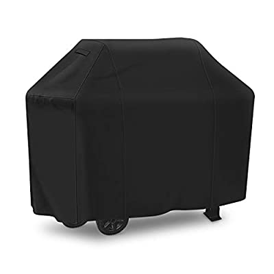 iCOVER Grill Cover 58 inch, 210D Light-Weight Polyester Electric Smoker Cover, Convenient Portable Easy On/Off, Dustproof Waterproof for Weber Char-Broil Nexgrill and More Grills