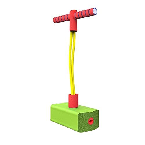 AMZYY Movimiento de Juguetes para niños, Palitos de Pogo para niñas, Juegos de Bungee Jumper, Juguetes Que Rebotan para Mayores de 3 años, Pascua,Green