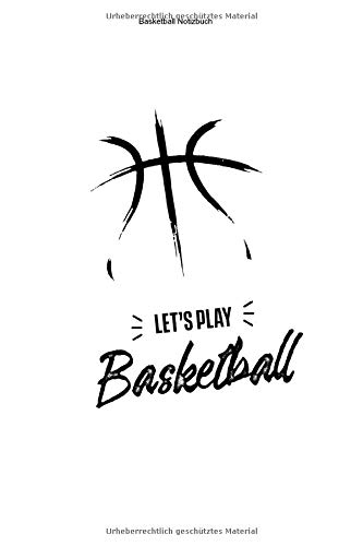 Basketball Notizbuch: 100 Seiten | Kariert | Trainer Fan Spiel Basket Korb Ball Mannschaft Team Training Wurf Geschenk Netz