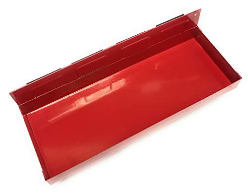 1 x Werkstattwagen Magnet Ablage/Dosenhalter/Magnetteller für Werkzeuge wie Steckschlüssel, Schraubendreher und Spraydosen (Magnetbehälter) 310 mm
