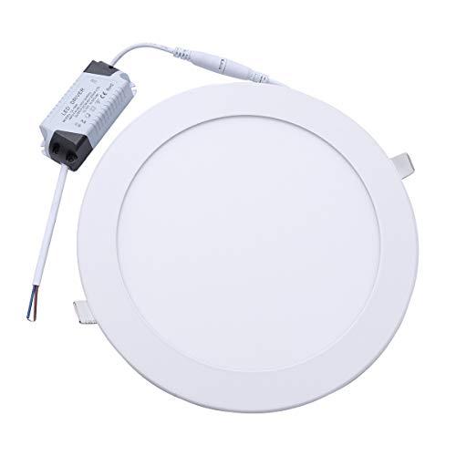 Mobestech - 1 lámpara de techo led de 18 W para decoración del hogar