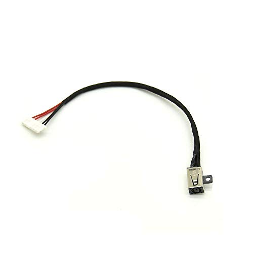 DC Power Jack Cable Replacement for Dell Inspiron 15 (3551 3552 3558) Series Ryx4j 450.030060001