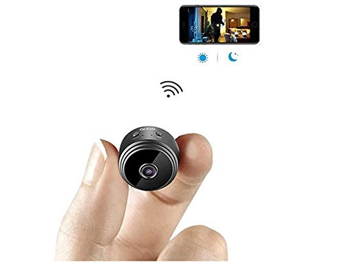 1080P Mini Spy Camera, Wireless Hidden Spy Cop Cam, Security Camera for Home and Outdoor, Monitoring-Security for Pet, Baby, Indoor, Home and Office