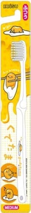 ナンセンス急勾配の【まとめ買い】キャラコレ ぐでたまハブラシ ふつう ×6個