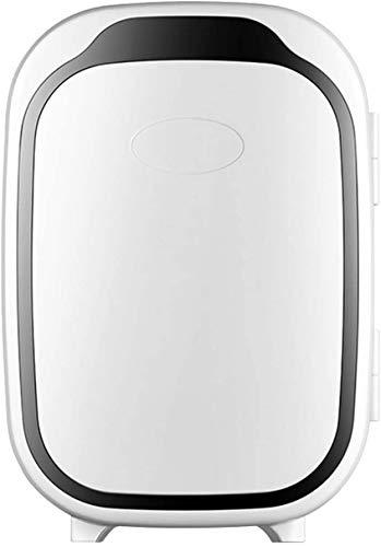 RENXR Mini Nevera 6L con Función De Enfriamiento Y Calentamiento -Bebidas De Cerveza Refrigerador Pequeño Portátil -para Dormitorio, Cuidado De La Piel, Oficina,B