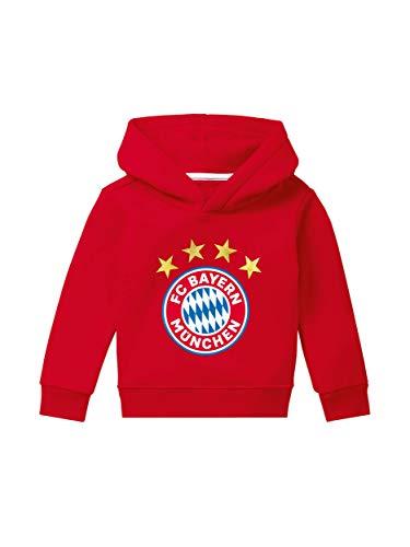 FC Bayern München Hoodie Logo rot Kleinkinder/Kapuzenpullover Kids/Größe 104