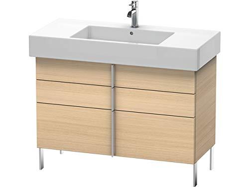 Duravit Vero Vanity unit verticaal 6414, met 2 lades en 1 uittrekelement, 1000mm, Kleur (voorzijde/karkas): Mediterrane eik echt houtfineer - VE641407171