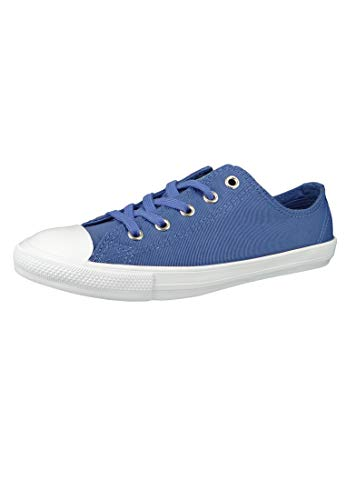 Converse Chucks 564308C Blau Chuck Taylor All Star Dainty OX Washed Indigo Fog, Groesse:37.5 EU / 4.5 UK / 6.5 US / 24 cm