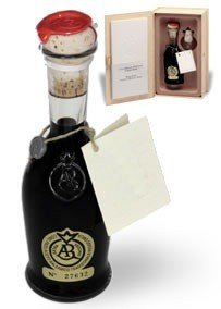 "Traditional Balsamic Vinegar of Reggio Emilia PDO ""Golden Seal"", 3,5 oz. Least 25 years old + glass tic"