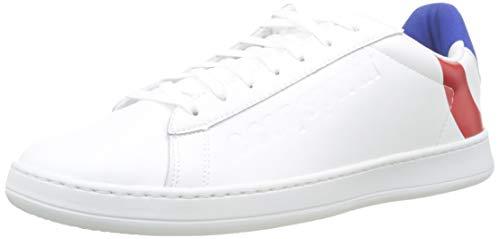 Le Coq Sportif Unisex Break COCARDE Sneaker, Weiß Optical White Tricolor, 37 EU