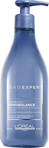 L'Oréal Professionnel Paris Serie Expert Sensibalance Shampoo, für empfindliche Kopfhaut, kopfhautschonendes Haarshampoo, reinigt sanft, spendet Feuchtigkeit, Haarpflege für normales Haar, 500 ml