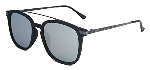 GIN TONIC Polarisierte Herren Sonnenbrille/Verspiegeltes Modell mit Doppelsteg F2505889