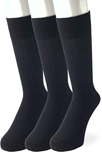【日本製・抗菌防臭効果の3足セット】ビジネスソックス メンズ(紳士用) ソックス 靴下 メンズ靴下 メンズソックス 紳士靴下 父の日のプレゼントにも [Vita Natur](無地・ブラック)