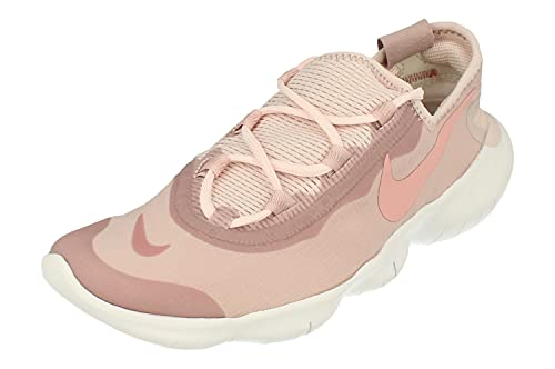 Nike Zapatillas de running Free Rn 5.0 2020 para mujer, rosa (Multicolor (Champán/Rosa Glaze-Barely Rose 600)), 39 EU