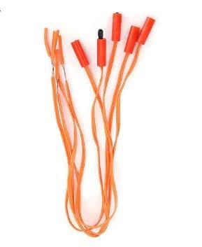 Câble d'allumeur de feu d'artifice 50pcs, câble de système de mise à feu de fil de cuivre de télécommande électronique sans fil
