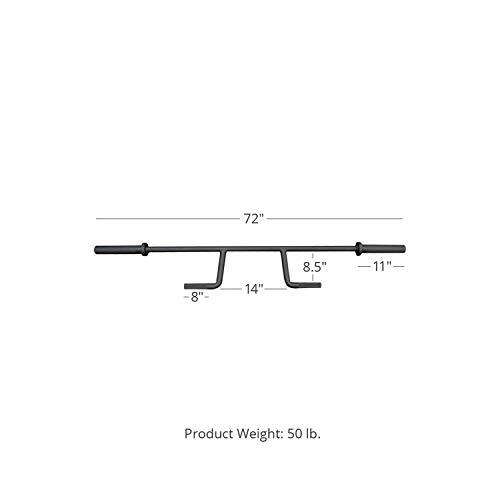 Titan Fitness Seal Row Bar V2 72