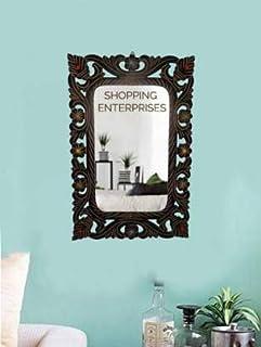 SHOPPING ENTERPRISES Rectangle Mirror Bathroom Mirror Decorative Mirror