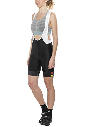 Brügelmann Bioracer Pro Race Trägershorts Damen Black Größe XL 2020 Bib Shorts
