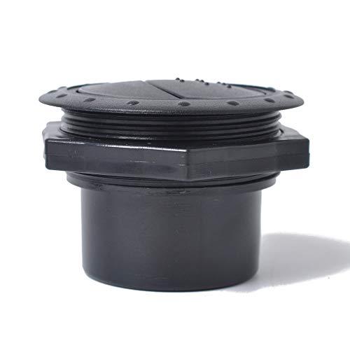 Mingtongli 60mm Coche RV ATV A/C Aire Acondicionado Salida de ventilación del Techo Tab Clip Giratorio de la Ronda Interior