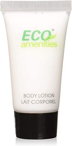 ECO amenities Travel size 0.75oz hotel body lotion bulk 288Count, Clear Green Tea,216 Ounce