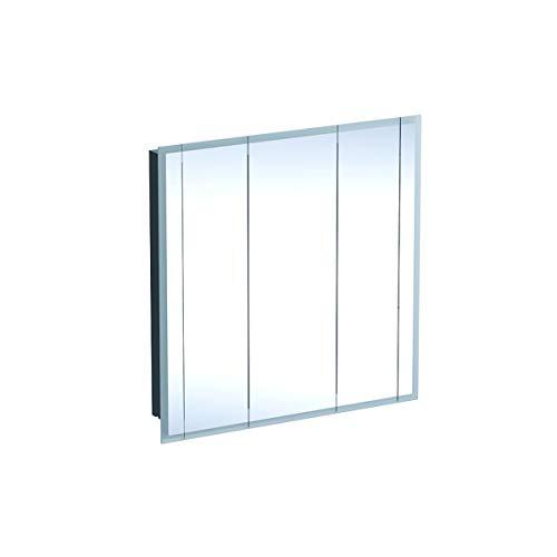 Geberit Een spiegelkast, 1000x1000x160mm, incl. verlichting, 3 deuren, 500485001-500.485.00.1