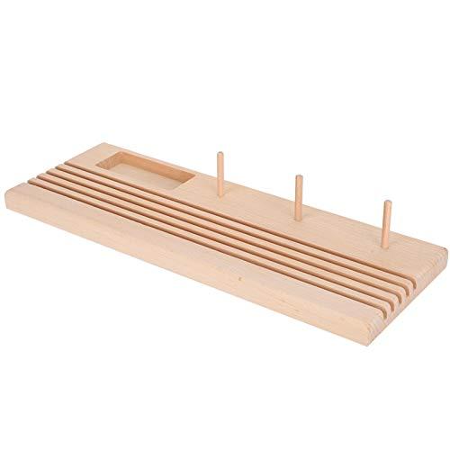 Regla de costura para regla, soporte para acolchar regla de madera, bobina de sastre para patchwork DIY herramienta de costura
