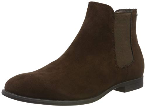 Jack & Jones Jfwmitchell Synth Suede Java, Botas Chelsea para Hombre