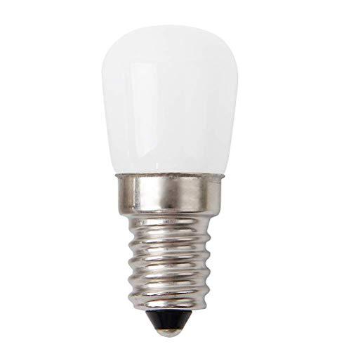 Ibesecc Bombilla LED E14 3W para frigorífico, mini bombilla LED de 360°