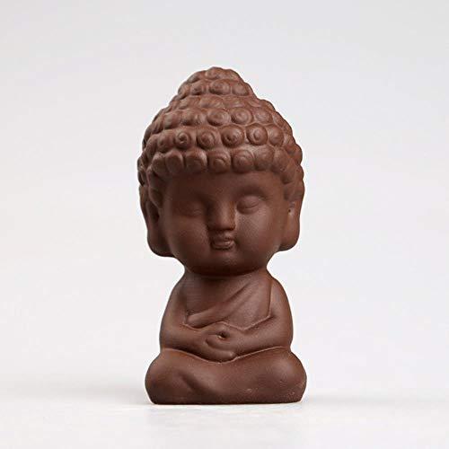 Ethan Kleurrijke Zand Thee Huisdier Accessoires Fijne Handgemaakte Ornamenten Leuke Boeddha Huisdieren Als Kleine Maitreya