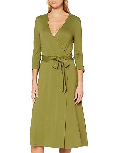 Esprit 070EE1E313 Vestido, 360/verde Oliva, XXL para Mujer