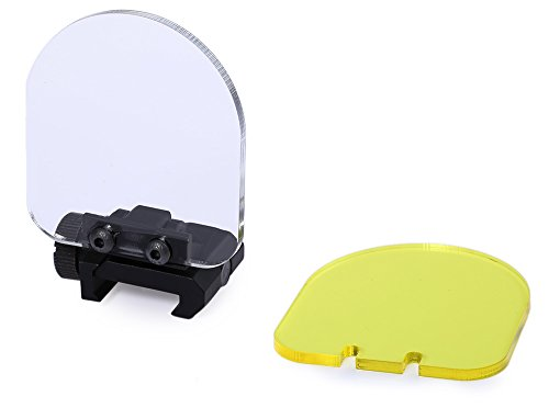 Hotour Airsoft Lens Protector Sight Cover Foldable Shield Linsenschutz