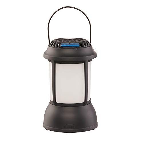 Thermacell Mosquito Repellent Patio Shield Lantern – Lantern Light Plus 15-Feet of Silent, Odorless, Portable Bug Control; No Spray or Mess, DEET-Free; Refills Available;