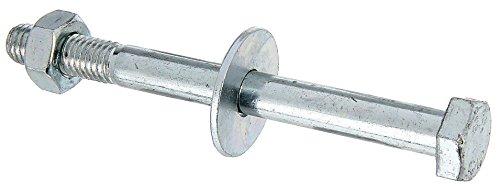 GAH-Alberts 338268 Sechskantschraube, D-Fix, für H-Pfostenträger, U-Pfostenträger etc, galvanisch blau verzinkt, M10 x 110 mm / 2 Stück