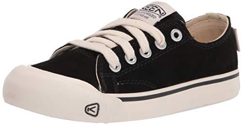 KEEN Damen Coronado 3 Suede Low Sneaker, Schwarz, 41 EU