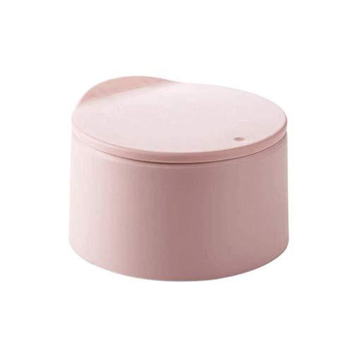 SMEJS Papelera de cocina para baño, dormitorio, hogar, oficina, automático, sin toque, con tapa, cubo de basura cepillado (color: B)