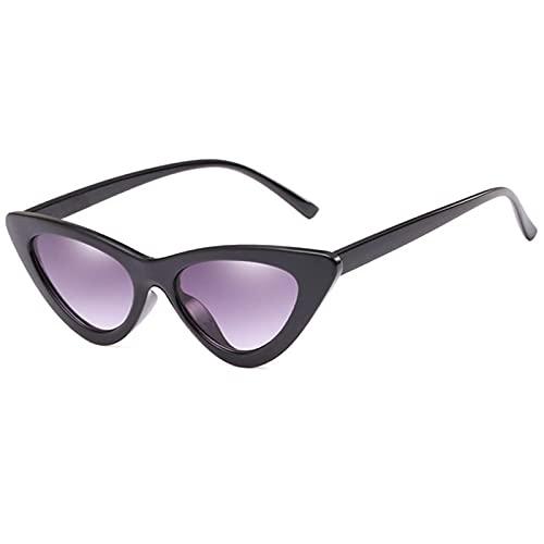 ShSnnwrl Único Gafas de Sol Sunglasses Nuevas Gafas De Sol De Lujo De Ojo De Gato para Mujer, Gafas De Sol Clásicas Y Clásicas Pa