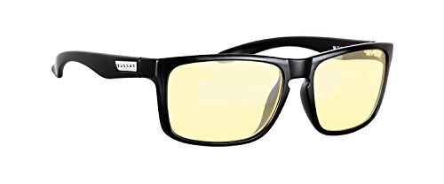 Gaming Glasses | Blue Light Blocking Glasses | Intercept /Onyx by Gunnar  | , 100% UV Light, Anti-Reflective To Protect & Reduce Eye Strain & Dryness