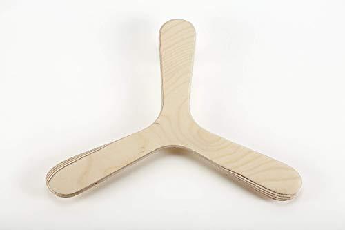 Bumerang Nature, Bumerang aus Birkenholz
