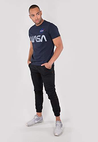Alpha Industries NASA Reflective Camiseta rep blue