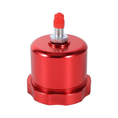 Réservoir d'huile de frein à main hydraulique, dérive de course universelle réservoir d'huile de frein à main hydraulique réservoir de liquide de frein électronique environ 218g(rouge)