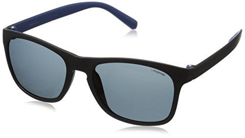 Polaroid PLD 3009/S C3 LLK Gafas de sol, Negro (Black Blueette/Grey Pz), 53 para Hombre